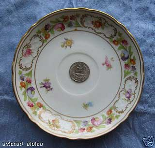"Hotel Delmonico Park Ave NYC 5.5/"" Plate by Syracuse China"